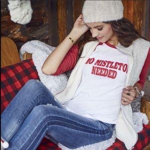 Altar'd State Christmas Baseball T-shirt